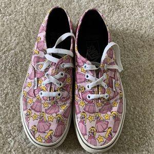 Princess Peach Nintendo Vans